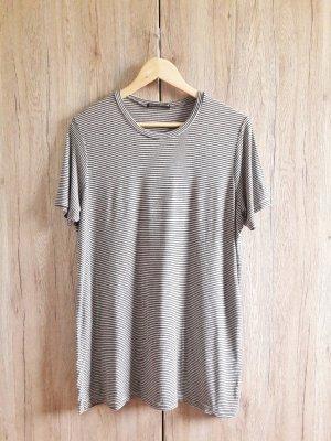 Brandy & Melville Shirt Dress black-light grey