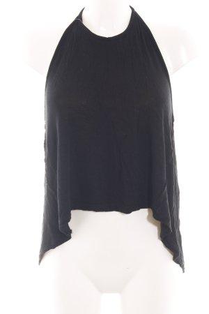 Brandy & Melville Neckholdertop schwarz Elegant