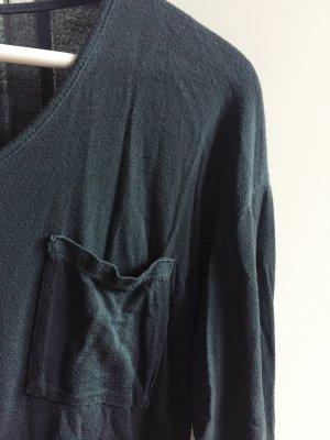 Brandy Melville, Oberteil, grün, dunkelgrün, Langarmshirt, Shirt
