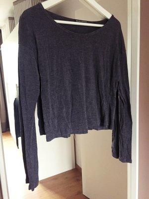 Brandy&Melville, Oberteil, Shirt, grau, Longsleeve
