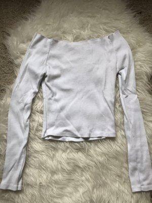 Brandy & Melville Long Shirt white