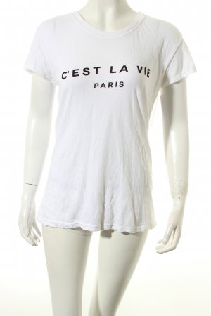 Brandy & Melville Shirt weiß Casual-Look