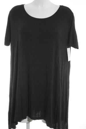 Brandy & Melville Shirtkleid anthrazit meliert Casual-Look