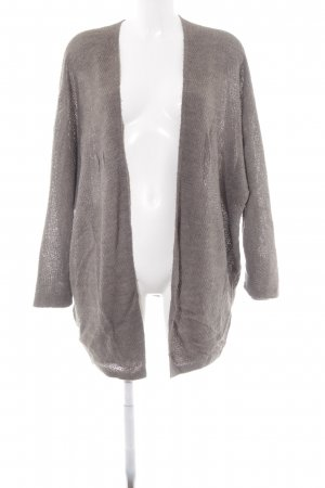 Brandy & Melville Knitted Coat grey casual look