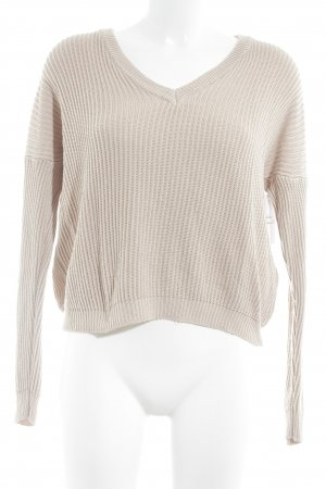 Brandy & Melville Strickpullover creme Casual-Look