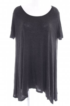 Brandy & Melville T-Shirt dunkelgrau Casual-Look