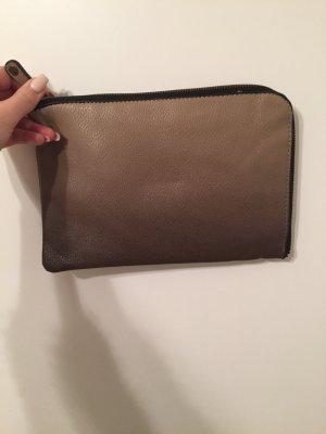 Braun beige Tasche mit Farbverlauf