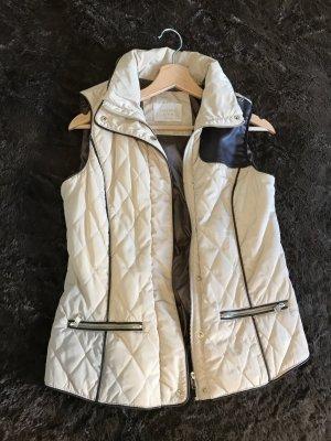 Zara Gilet brun noir-beige