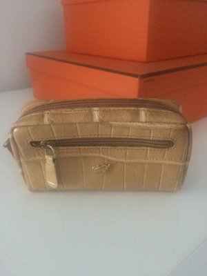 Key Case sand brown leather