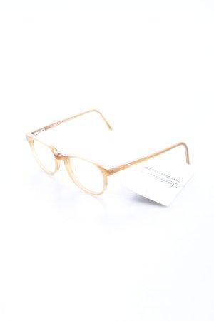 Braun Classics Brille camel klassischer Stil
