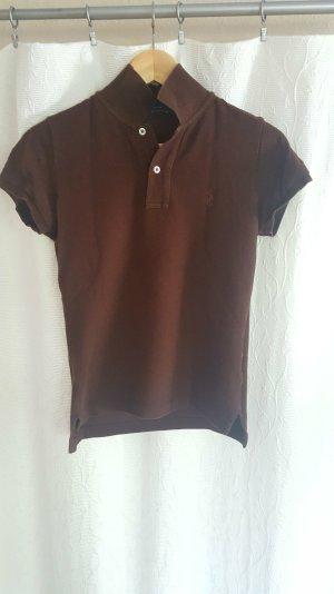 Braun farbenes Polo Shirt Ralph Lauren