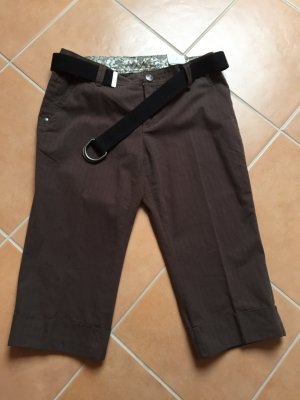 Street One Pantalone Capri marrone scuro