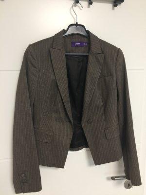 Mexx Jersey blazer bruin-wit