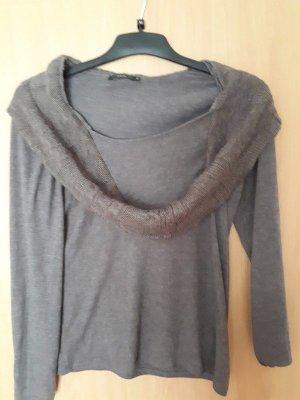 Zero Jersey de lana marrón grisáceo