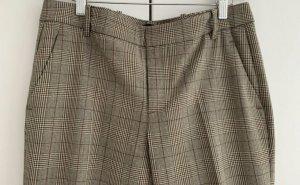 Zara Woman Pantalon 7/8 multicolore polyester