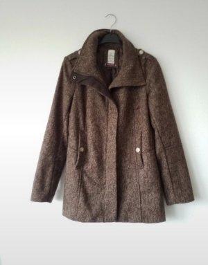 braun meliere Jacke / Mantel Wie NEU, da er nur wenige Male getragen wurde.
