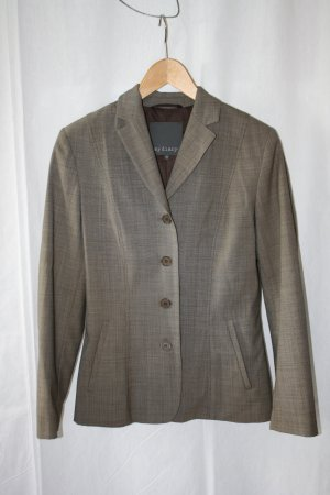 Braun melierter eleganter Anzug