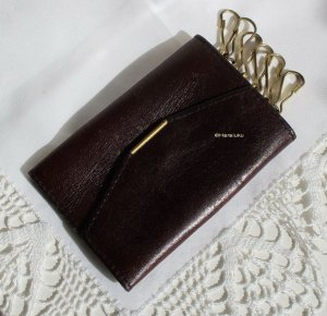 Vintage Key Case dark brown