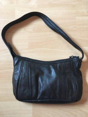 Braun-Schwarze EDC Handtasche
