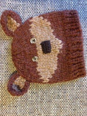 Braunbär - Teddymütze