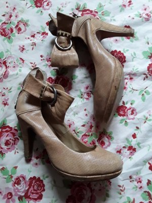 Marco Tozzi Strapped pumps sand brown
