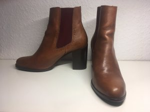 Braune Ankle Boots