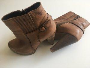 Braune Ankle Boots/Stiefellette von Venturini - top erhalten