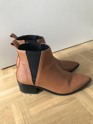 Braune Ankle Boots von e8 by miista ULA