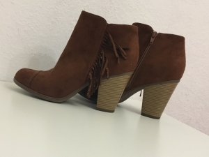 braune ankleboots bequem