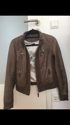 Arma Collection Leather Jacket dark brown-brown