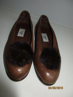 Lario Slingback Ballerinas brown leather