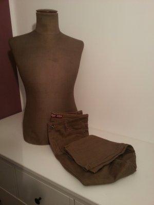 Braune/ Beige Jeans in Gr. 40 Fen Fen