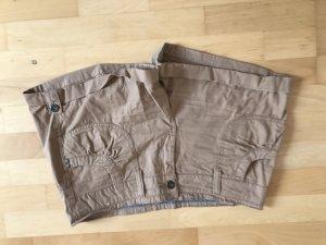 Braune beige Shorts Gr 40