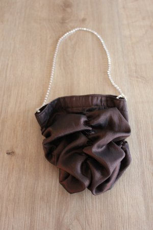 Pouch Bag black brown