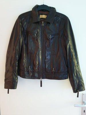 Biba Leather Jacket brown