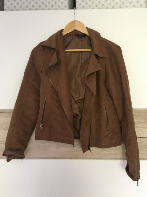 Esmara Biker Jacket brown-cognac-coloured