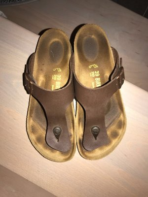 Birkenstock House Shoes dark brown
