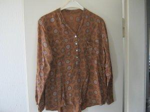 braune Bluse Größe L