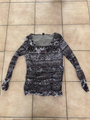 braune Bluse / Shirt / Langarmshirt von S.Oliver - Gr. 42