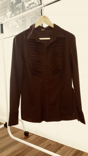 Braune Bluse von Selection by S. Oliver in Gr. 40