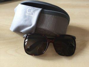 Braune Calvin Klein Sonnenbrille