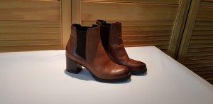 braune Chelsea Boots von Geox Gr. 37 fast neu!!