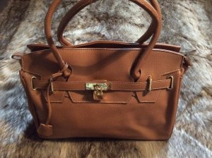 Peek & Cloppenburg Carry Bag bronze-colored