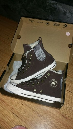 Braune Converse Chucks All Star Winter Neu Gr.36/36,5