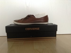 Braune Converse Chucks Gr 8.5 / 39 - neu & ungetragen, mit Etikett