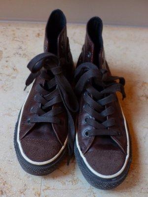 "braune  Converse High Top Sneaker ""All Star"""