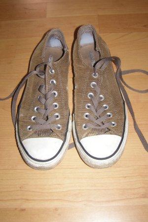 Converse Sneakers met veters bruin-lichtbruin Katoen