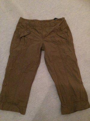 Braune Dreiviertelhose / Shorts von Tommy Hilfiger - Gr. 8 / M