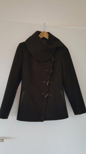 Braune Duffle Coat Jacke Größe 36