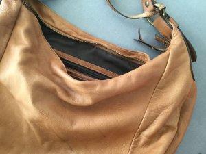 Braune  Echtledertasche von Abro